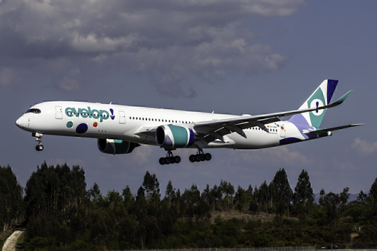 EEvelop Airlines Airbus A350
