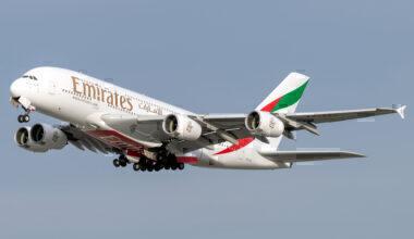 Emirates, Airbus A380, Active