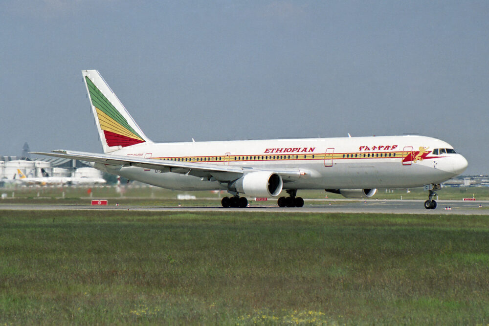 Ethiopian Airlines 767