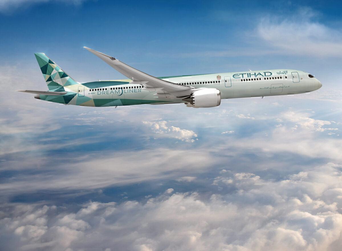 Etihad, Boeing 787, Carbon Offset