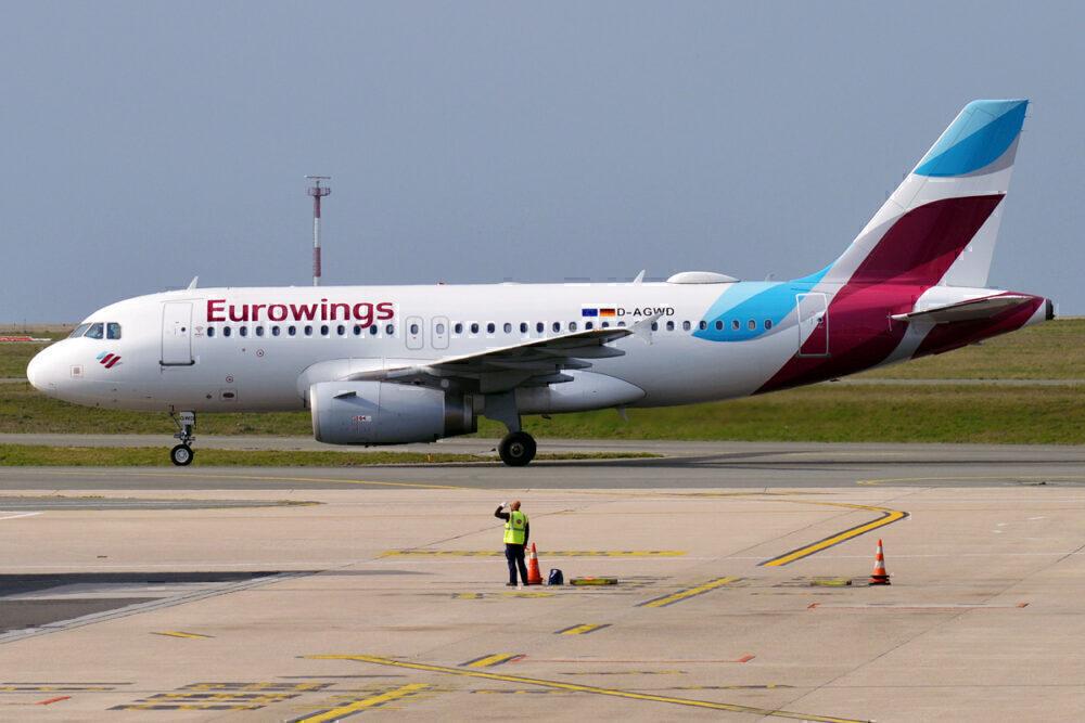 Eurowings A319-100