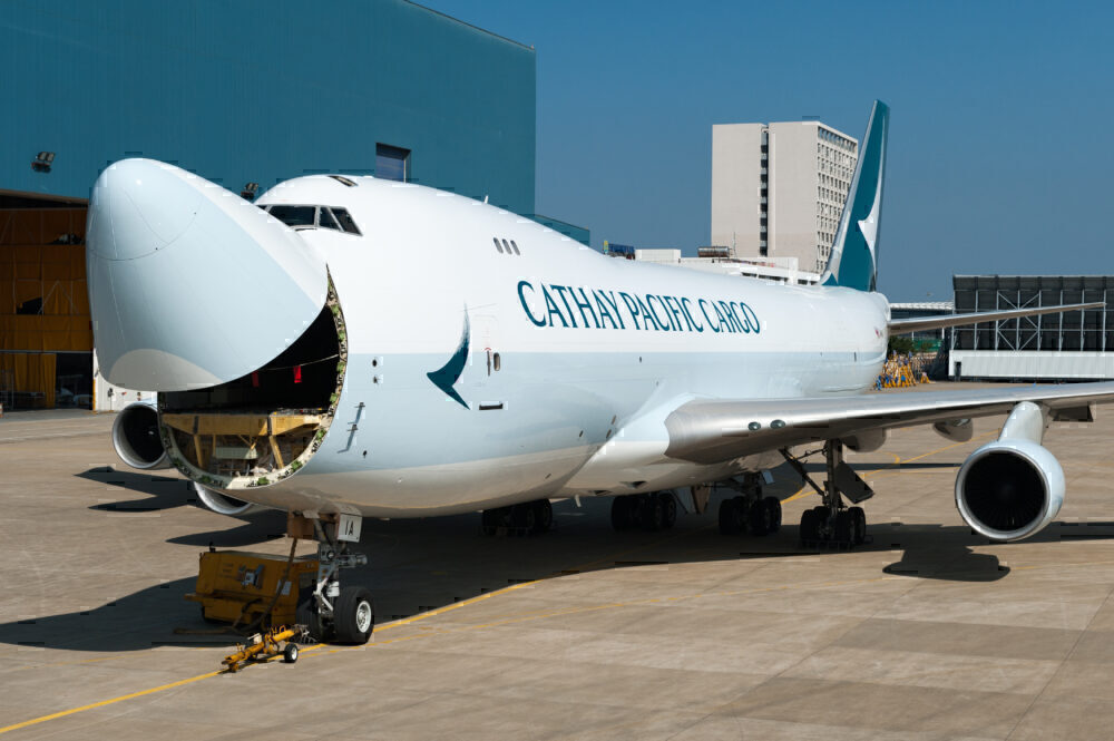 Cathay Pacific 747-8F