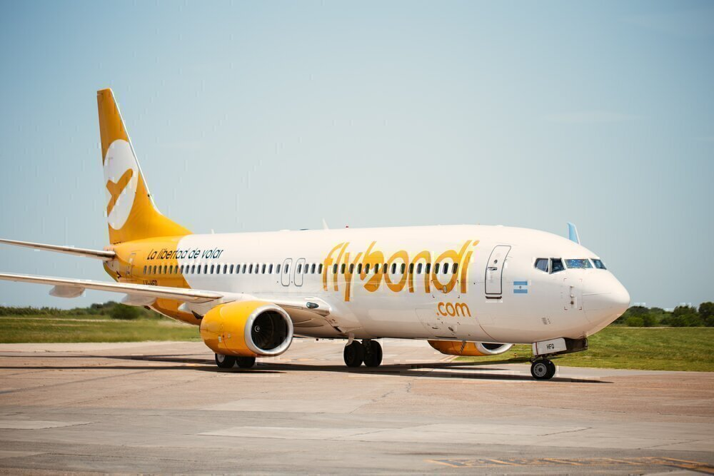 Argentina's Low Cost Flybondi Moves From Buenos Aires Hub