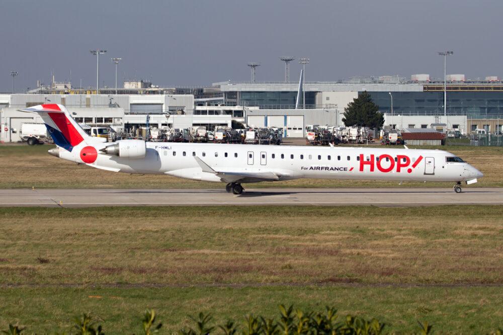 An HOP! for Air France Bombardier CRJ 1000
