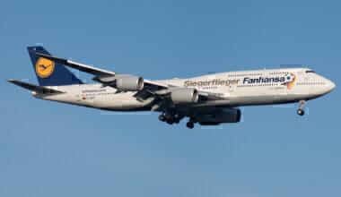Lufthansa – Boeing 747-8i – Fanhansa- FRA – EDDF