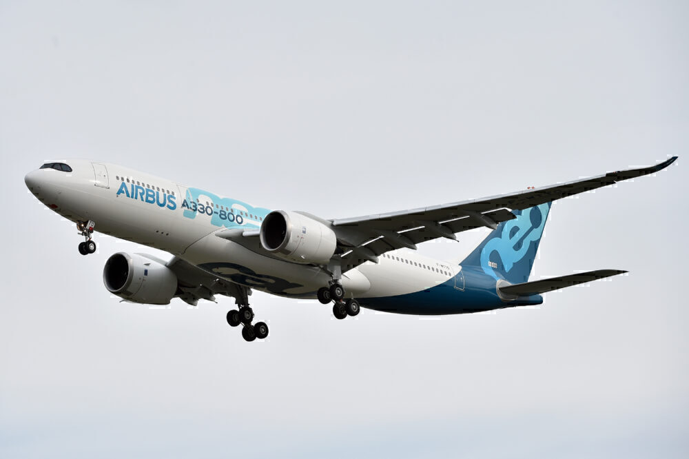 Airbus A330-800neo Toulouse Getty