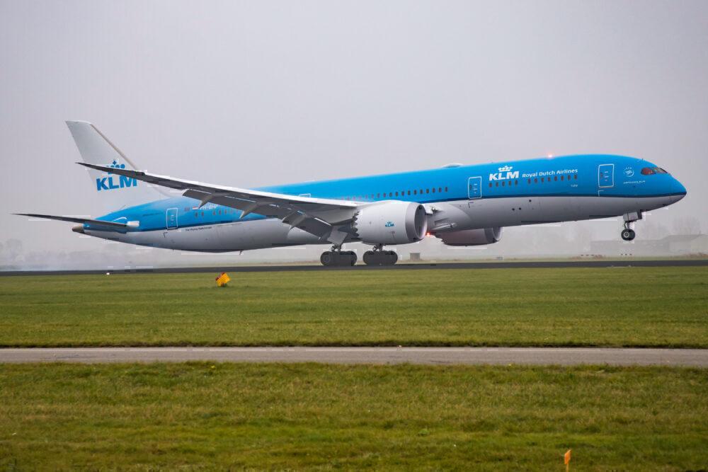 KLM Boeing 787-9 Amsterdam Getty