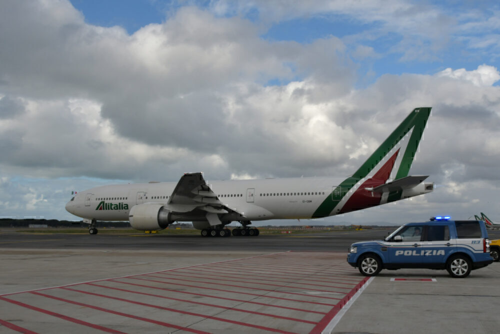 Alitalia Getty