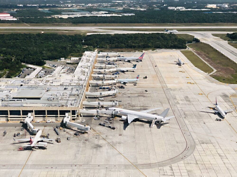 Cancun Airport Getty
