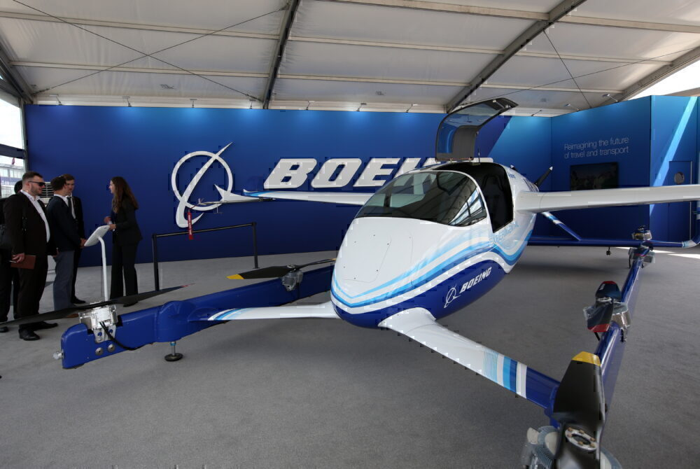 Boeing PAV flying taxi