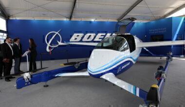 Boeing PAV flying taxi