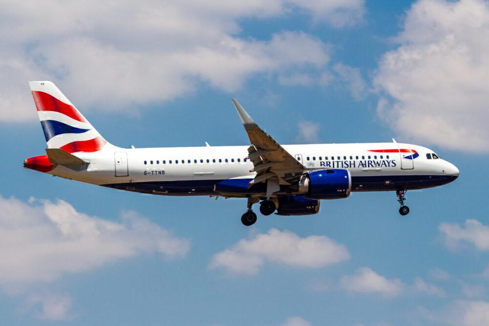 BA A320neo