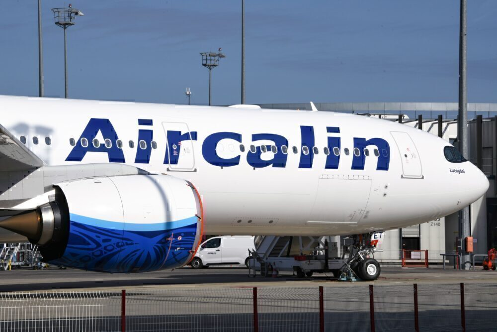 First Airbus A320neo For Aircalin Departs Toulouse