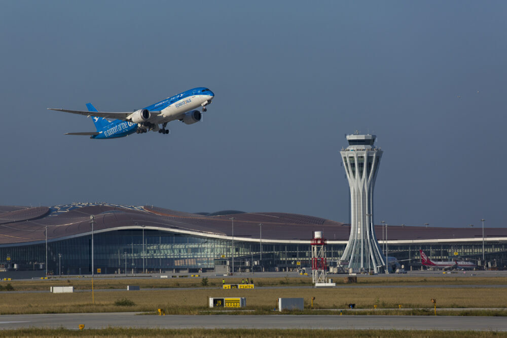 Beijing Daxing International Airport Operates