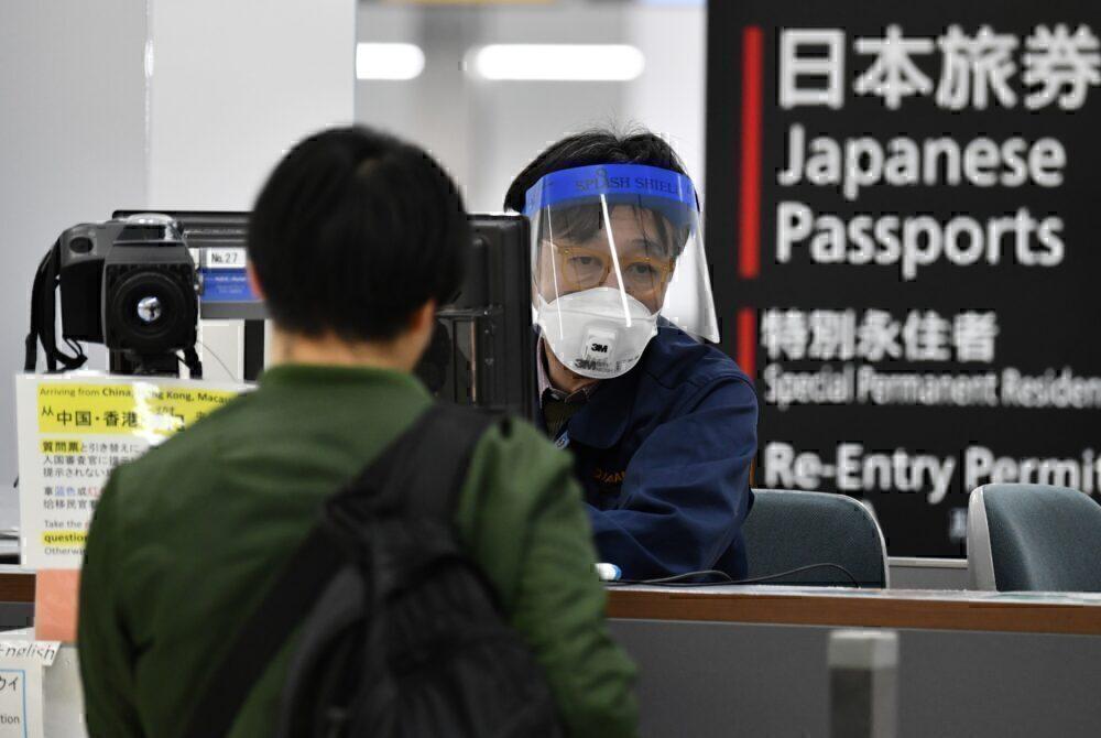 japan border customs officer