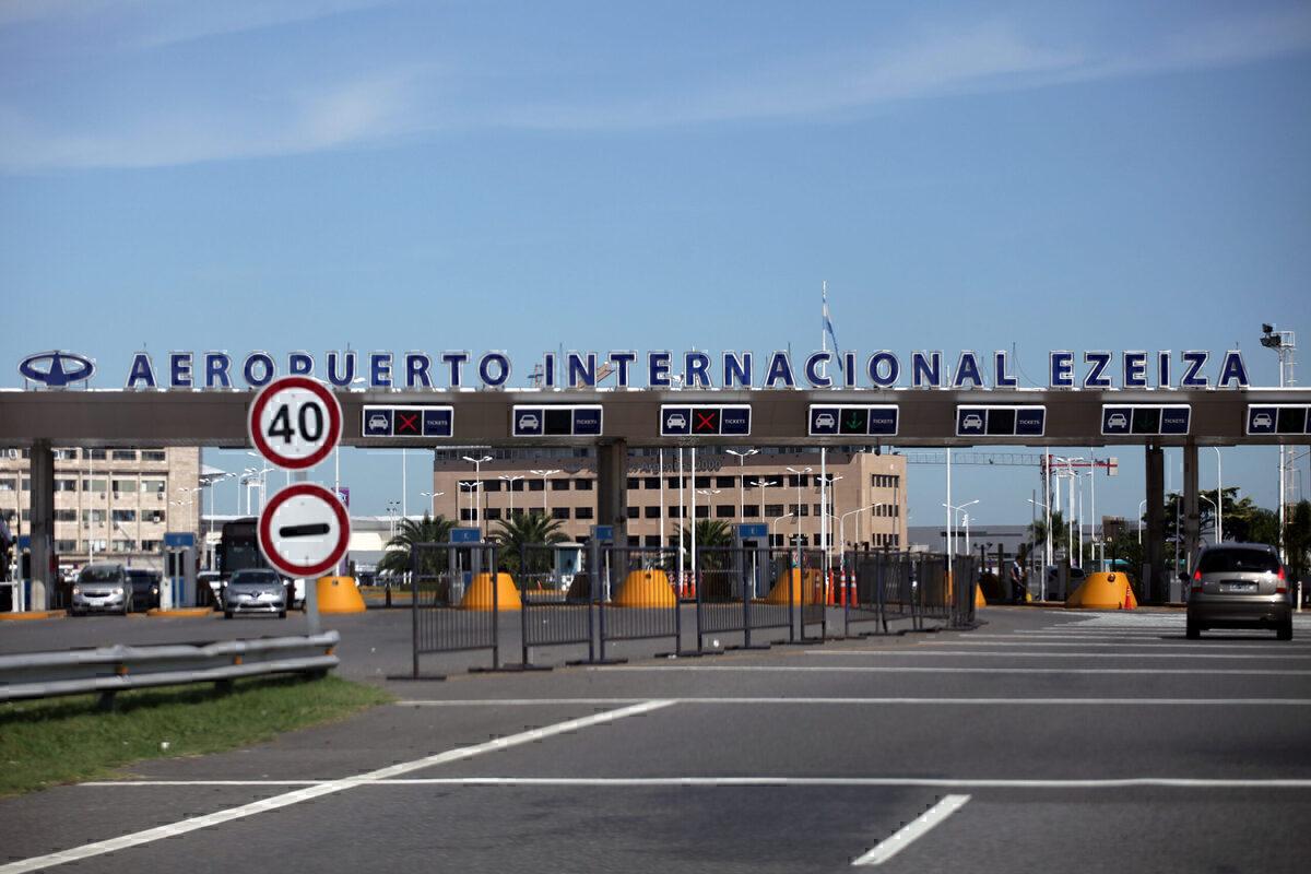 Ezeiza International Airport Argentina Getty