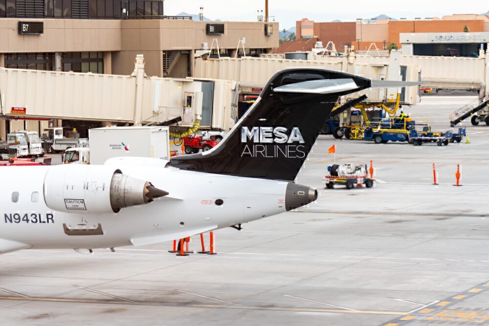 Mesa CRJ Getty