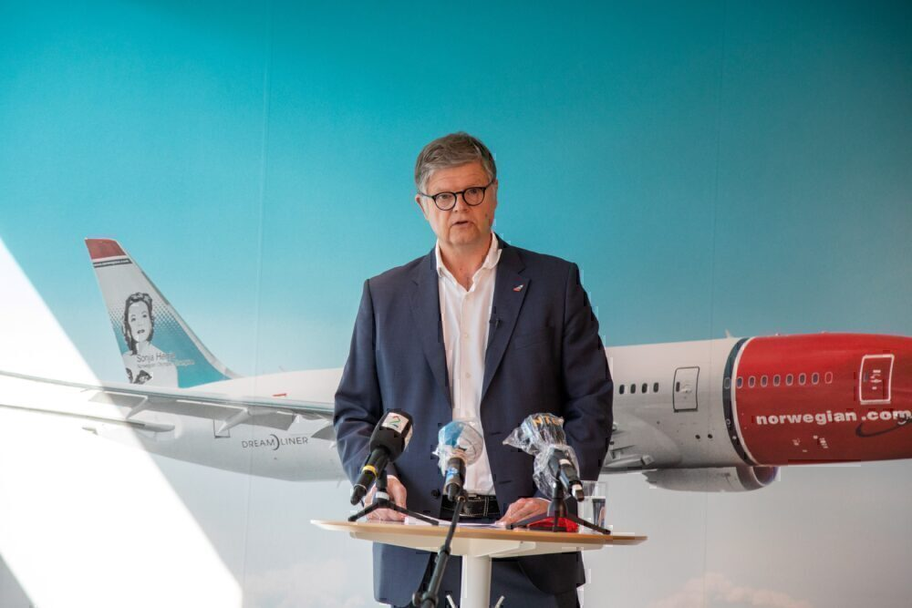 Jacob Schram CEO norwegian
