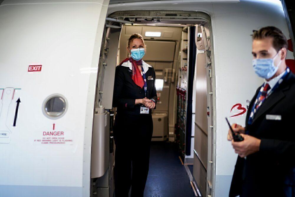 Masks Brussels Airlines