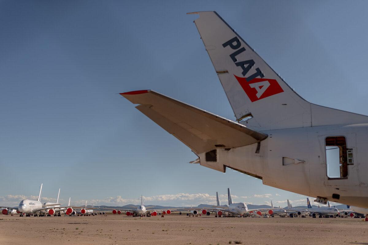British Airways, Airbus A380, Teruel