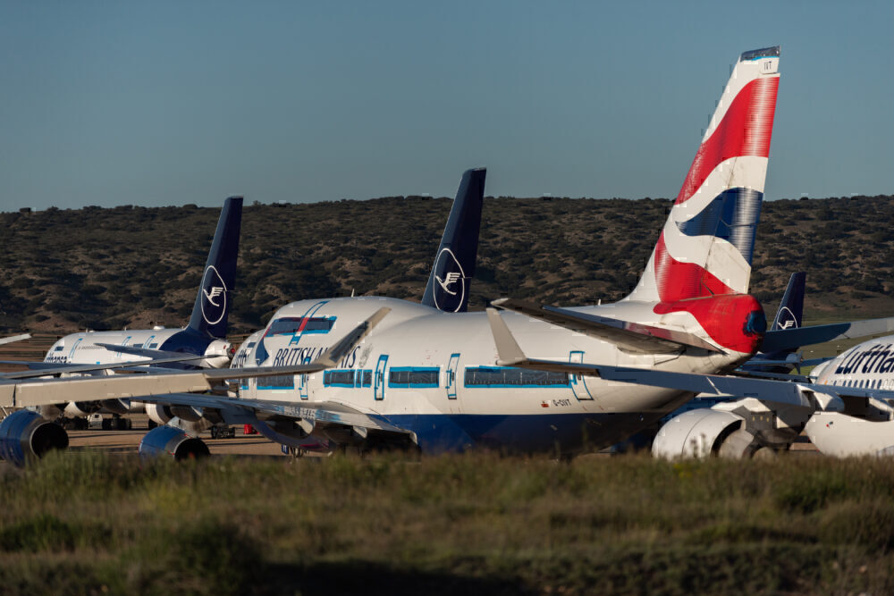 British Airways, Airbus A380, Teruel