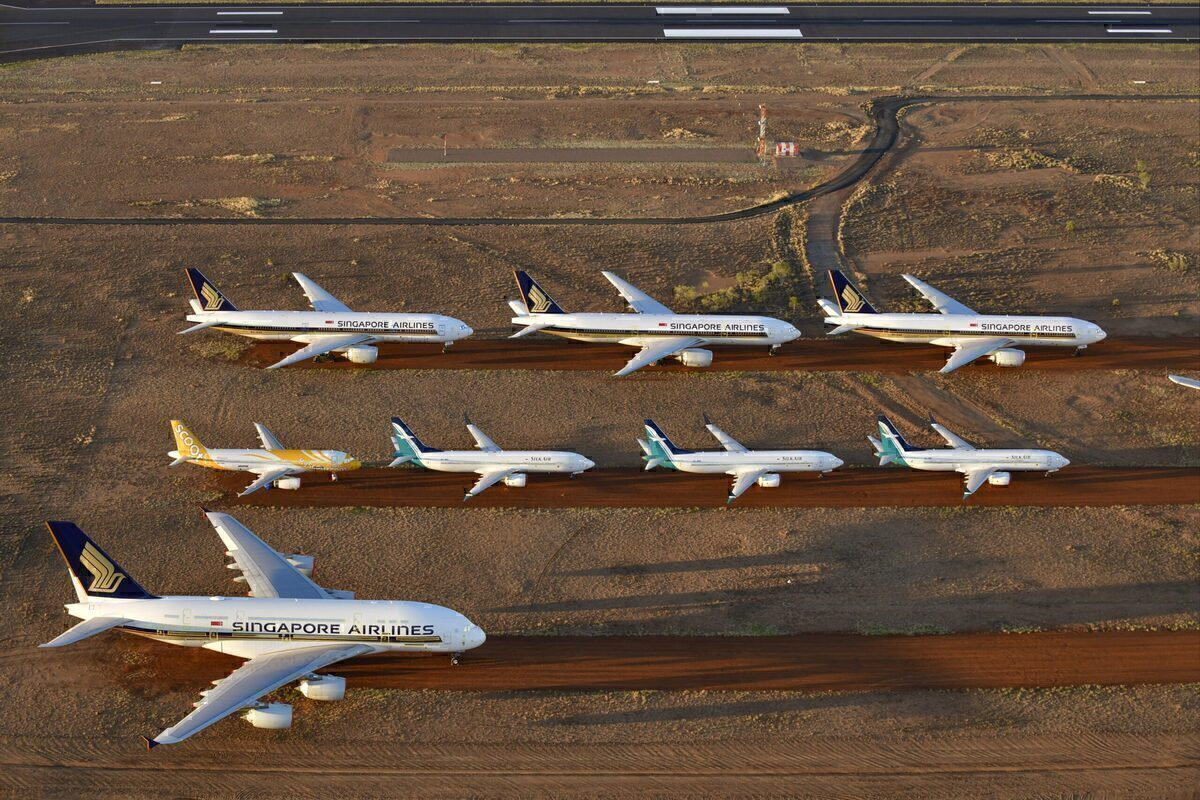 Singapore Airlines, Boeing 737 MAX, Ferry Flight