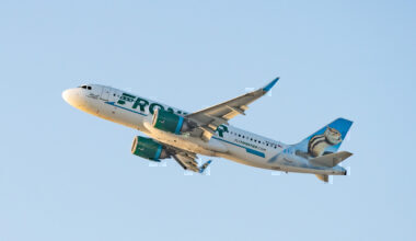 Frontier Airbus Getty