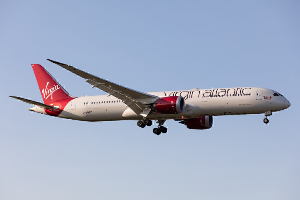Virgin Atlantic, Manchester, Pakistan