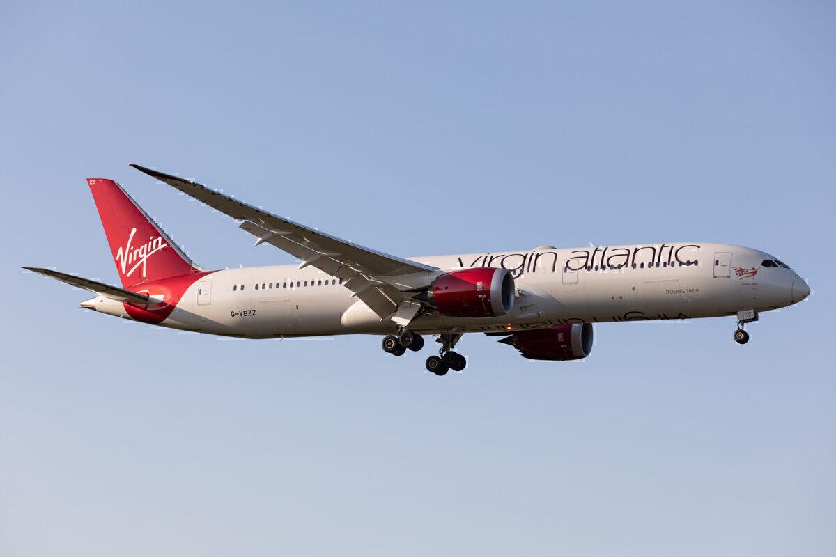 Virgin Atlantic, Manchester, Pakistan