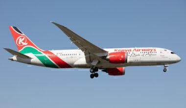 Kenya Airways 787 Heathrow Getty