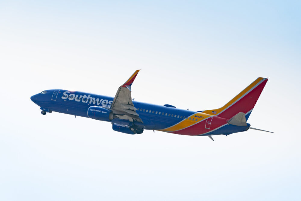 Southwest Airlines 737-800