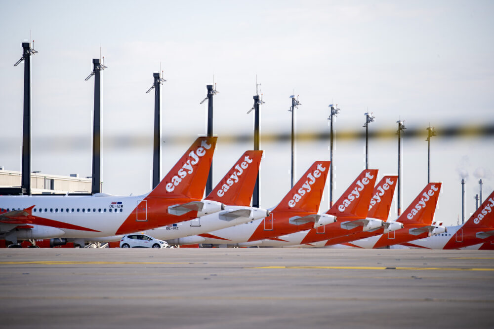 Easyjet tails