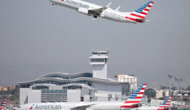 American Airlines Plane Getty