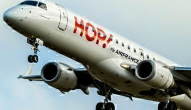 Hop for Air France E-190