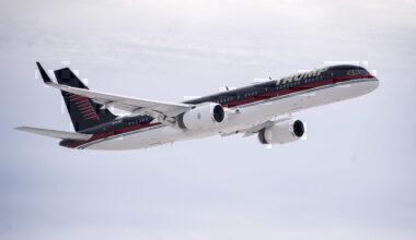Trump, Boeing 757, Maintenance