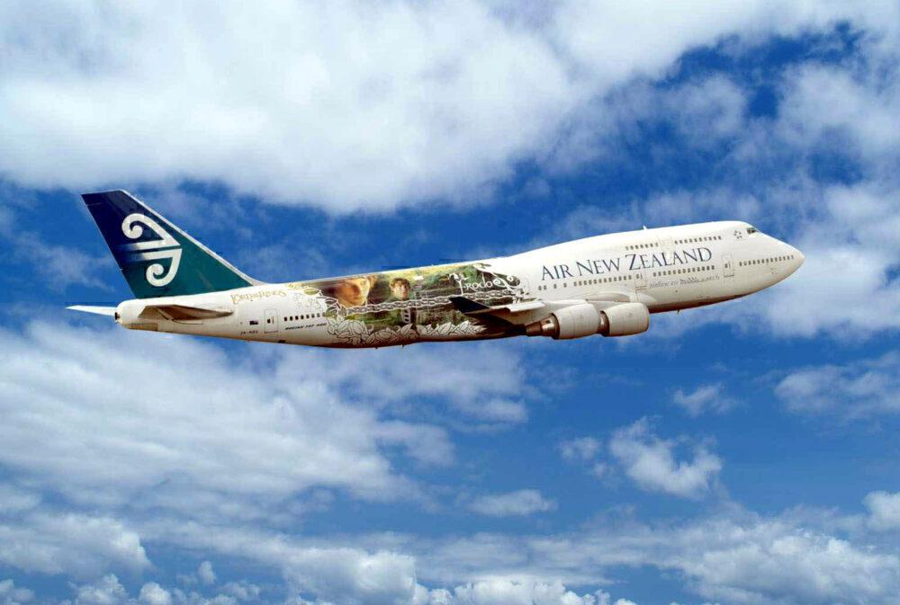 AIr New Zealand LOTR 747