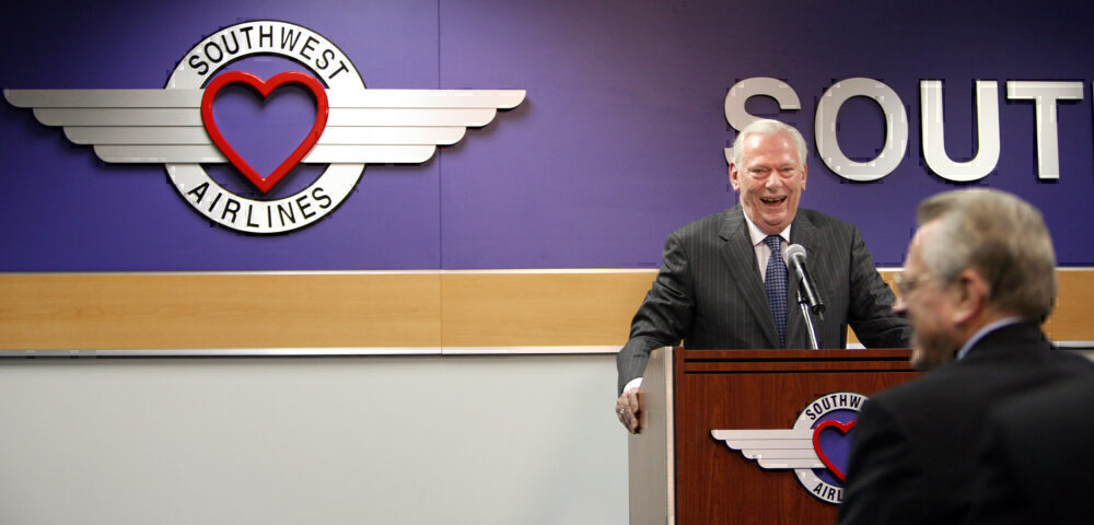 USA - Business - Southwest CEO Herb Kelleher