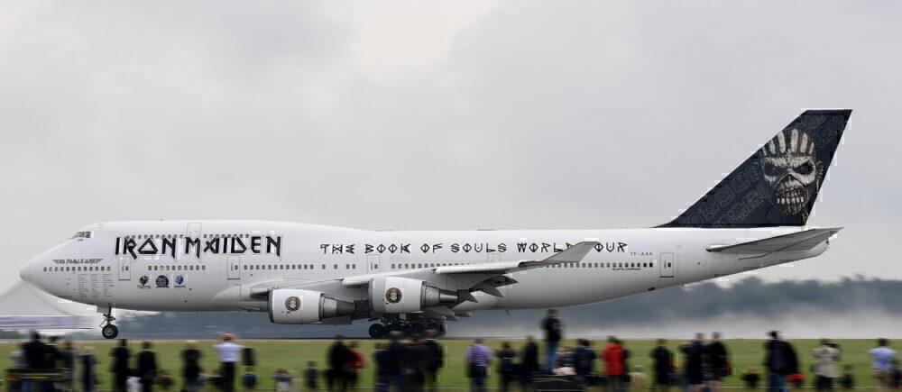 Iron Maiden 747