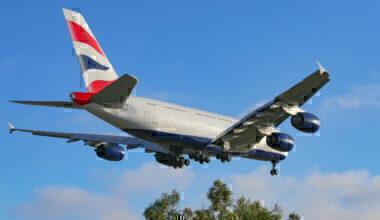British Airways, Airbus A380, Doha