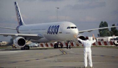 First ever A330
