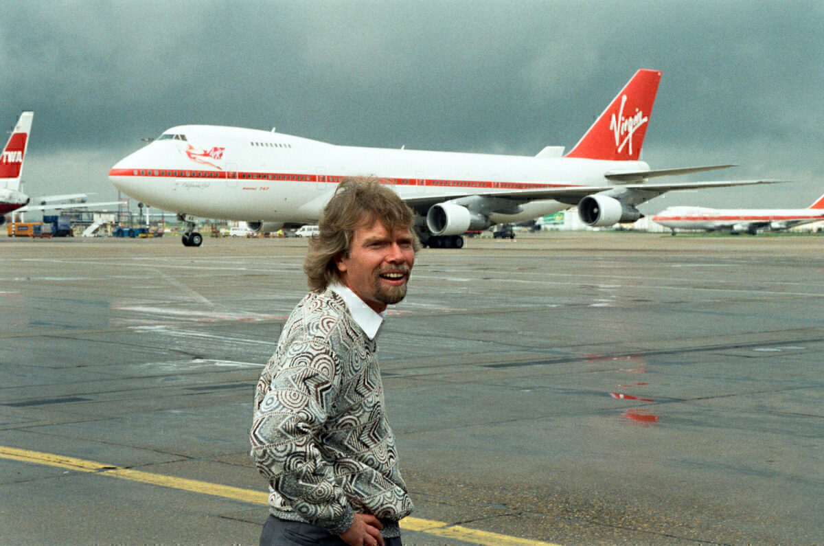 Virgin Altantic, Boeing 747, Dining Experience