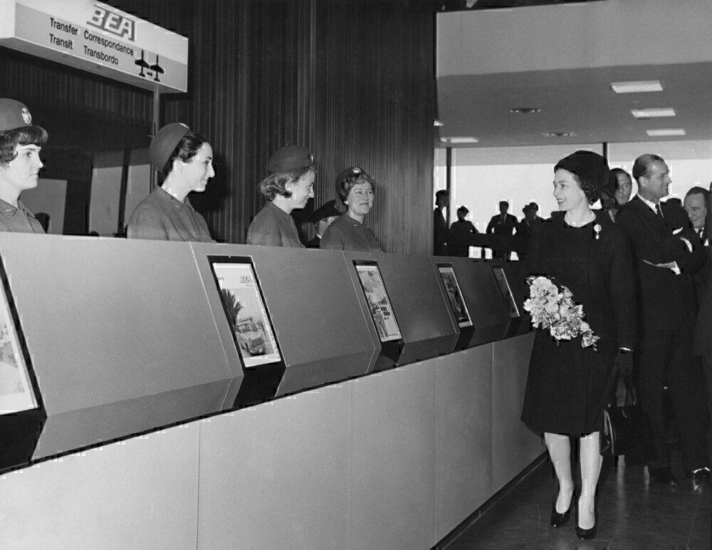 Queen opens Terminal 1