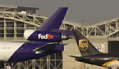 FedEx and UPS Getty