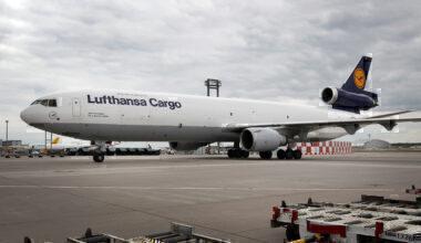 Lufthansa Cargo MD-11 Frankfurt Getty