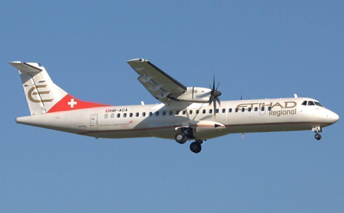 Etihad Regional ATR 72