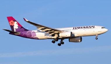 Hawaiian Airbus A330-243 N393HA