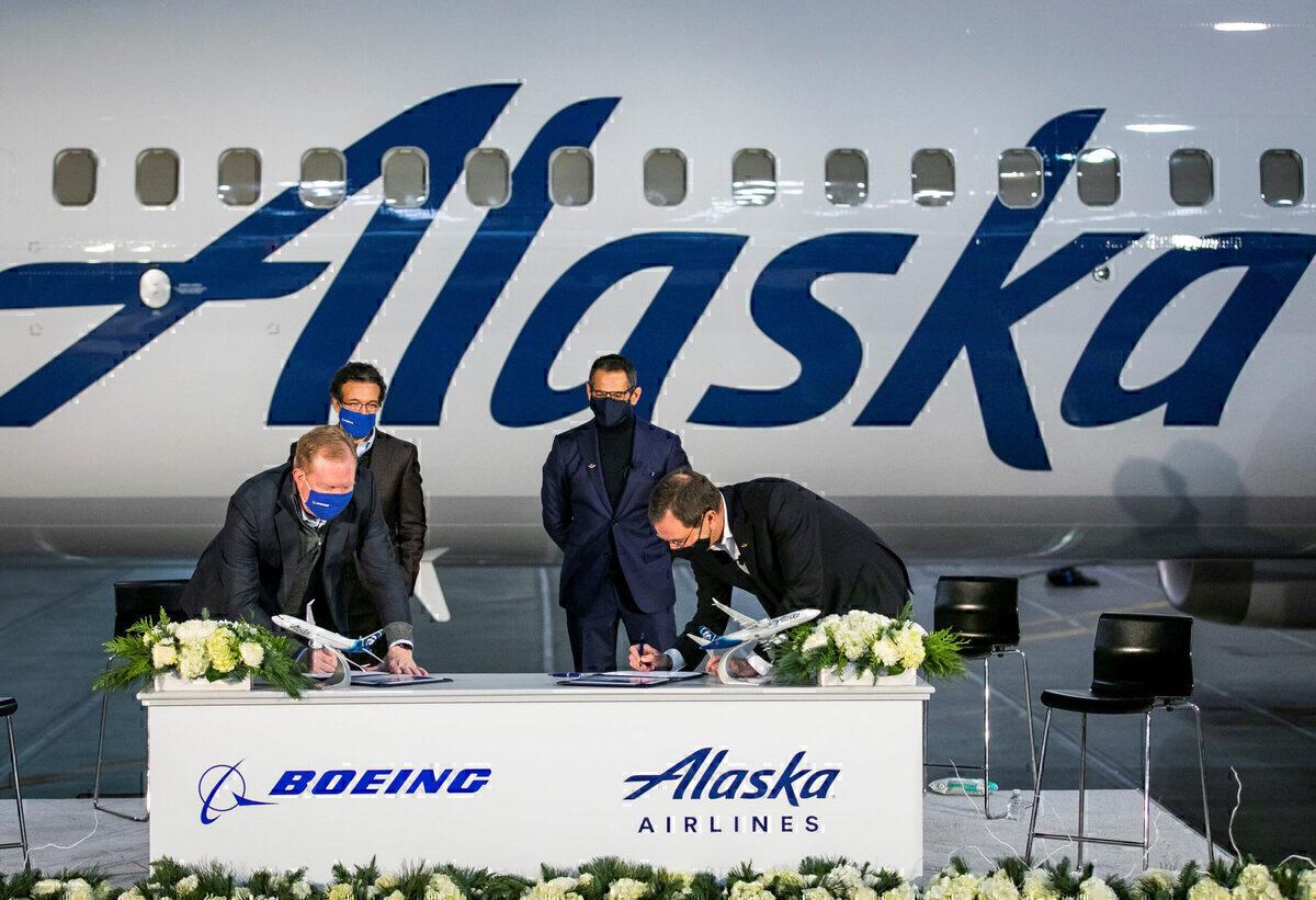 Alaska Airlines, Boeing 737 MAX, Order