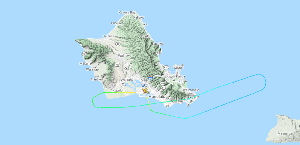 Honolulu Southwest Route