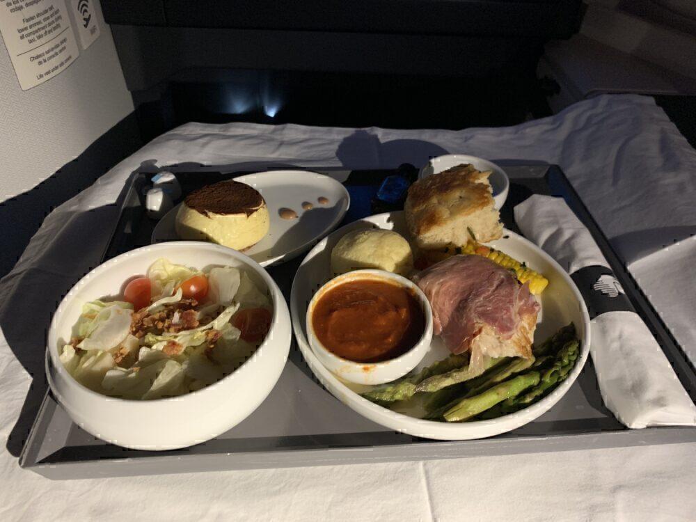 Aeromexico main meal