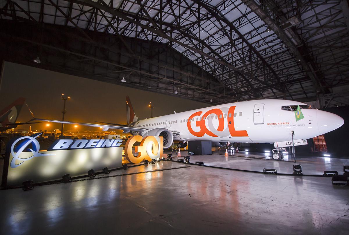 GOL, Boeing 737 MAX, First Flight